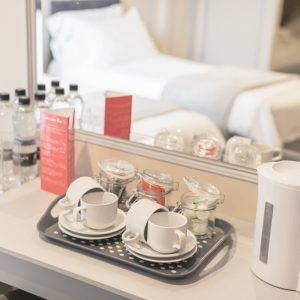 All Rooms Feature Tea/Coffee Making Facilities & Bottled Water