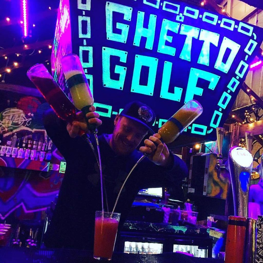 Ghetto Golf<br /> Add £11 to your stay